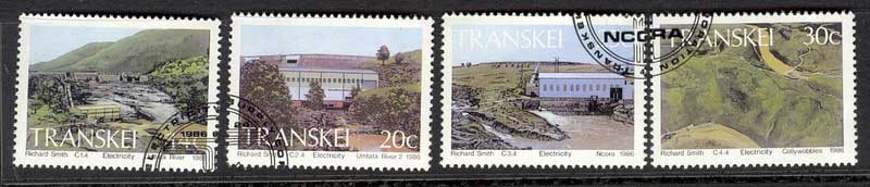 Transkei 1986 Hydroelectric Power VFU Lot11139