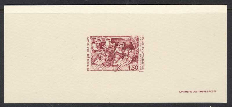 France 1997 La Salle Lavaugayon Yv#3082 Proof Lot14742