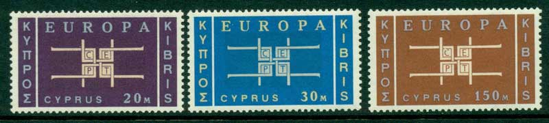 Cyprus 1963 2nd Europa MUH Lot15313