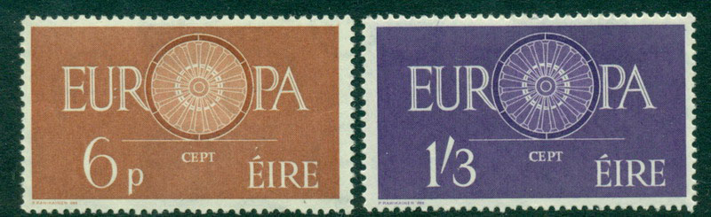 Ireland 1960 Europa MUH Lot15730