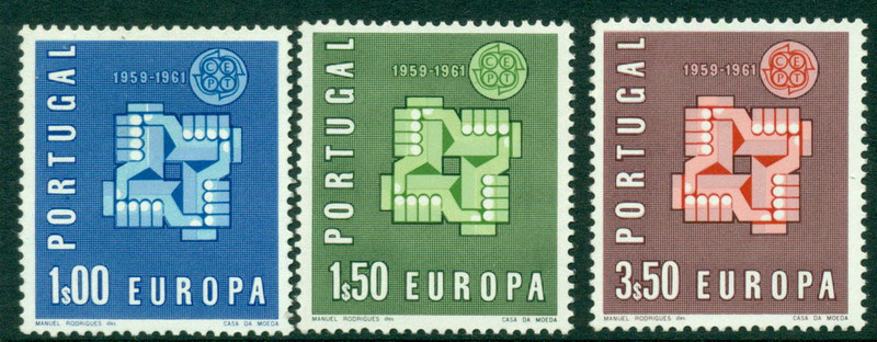 Portugal 1961 Europa MUH Lot15835