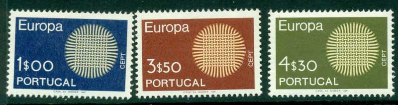 Portugal 1970 Europa MUH Lot15845