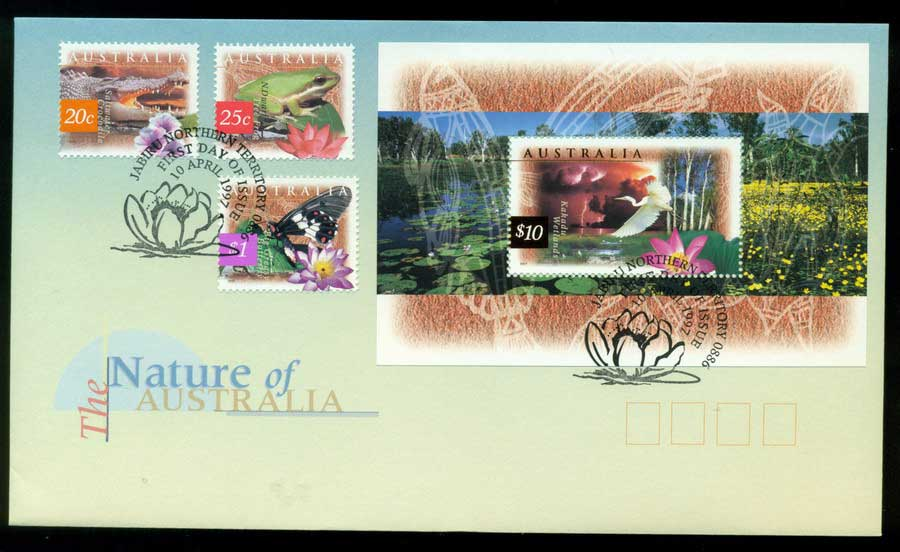 Australia 1997 Nature of Australia, Jabiru NT FDC Lot19504