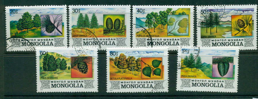 Mongolia 1982 Pine Trees CTO Lot21217
