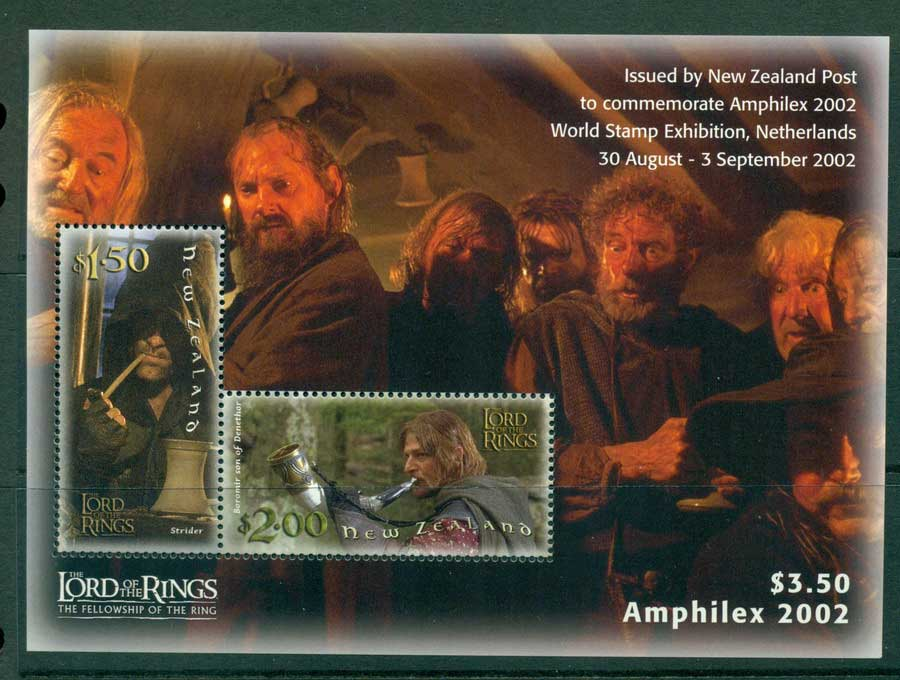 New Zealand 2002 The Two Towers Amphilex MS MUH Lot21363