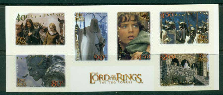 New Zealand 2002 The Two Towers P&S MUH Lot21365