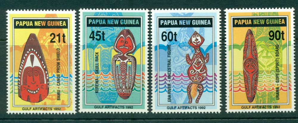 PNG 1992 Artifacts MUH Lot26424
