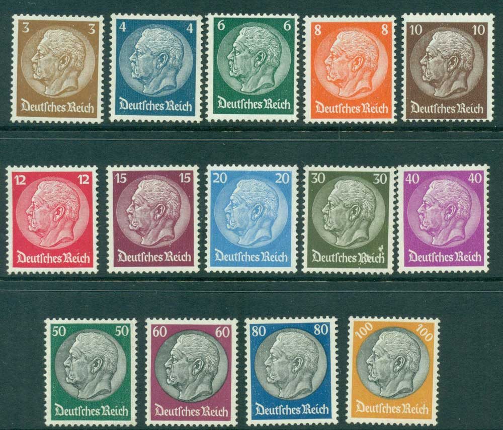 Germany Reich 1933 Hindenburg (30pf scuff) MLH Lot26578