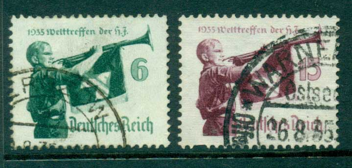 Germany Reich 1935 Hitler Youth Meeting FU Lot26601