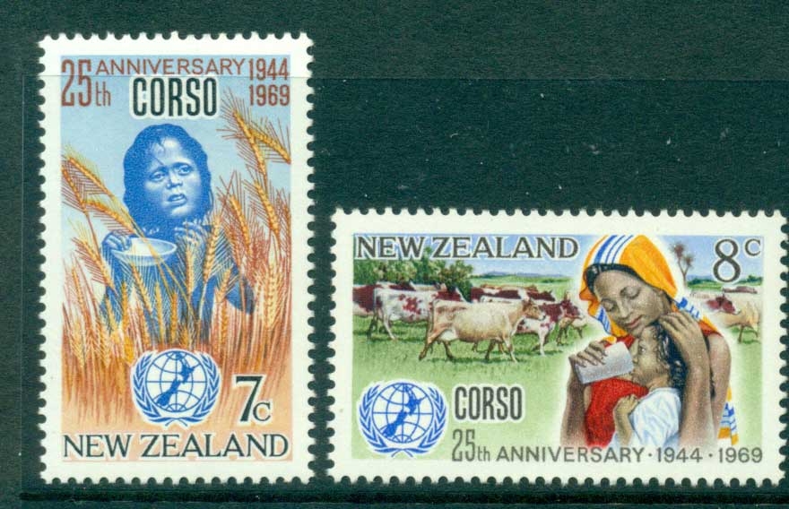 New Zealand 1969 CORSO MUH Lot28578