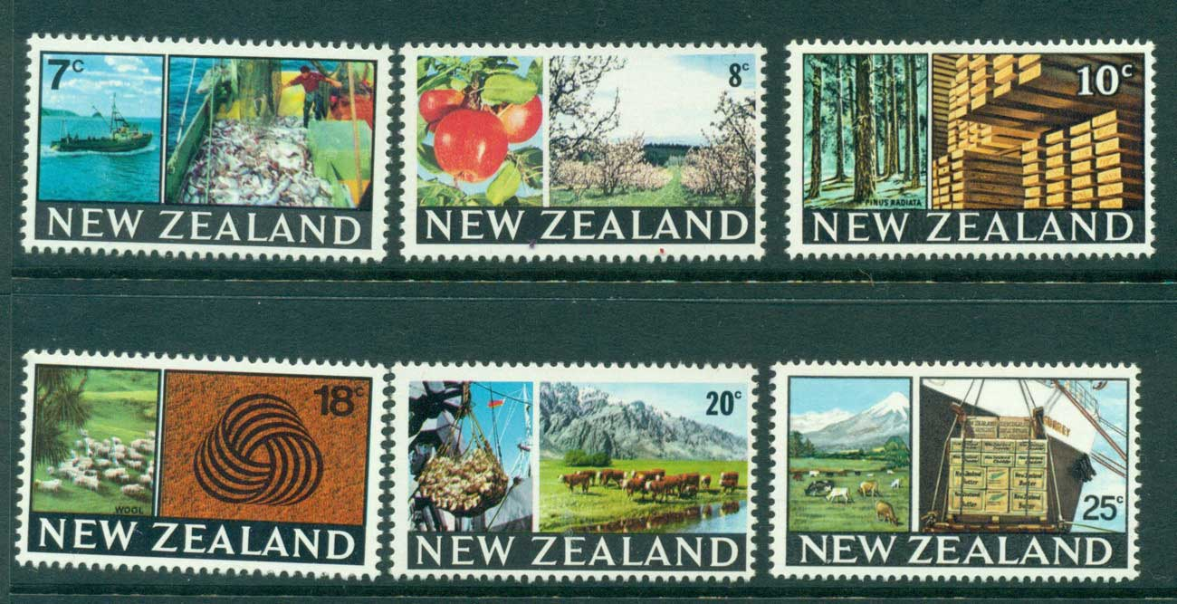 New Zealand 1968-9 Industry MUH Lot28580