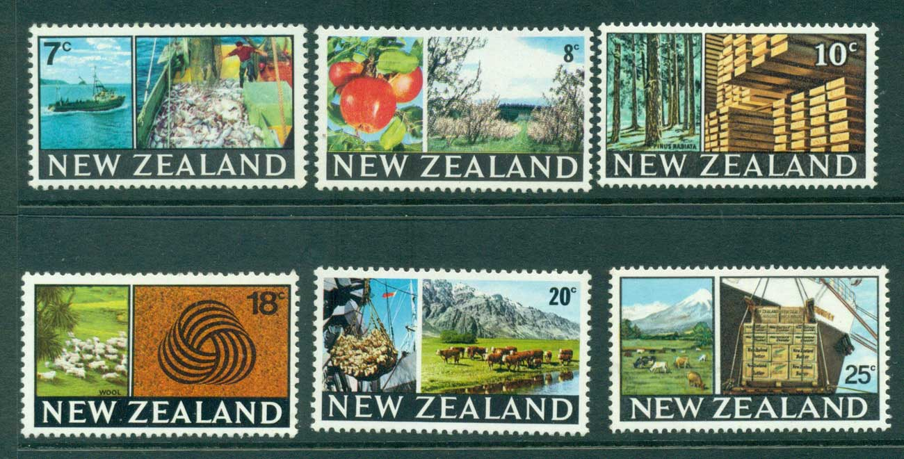New Zealand 1968 Industries MUH Lot28773